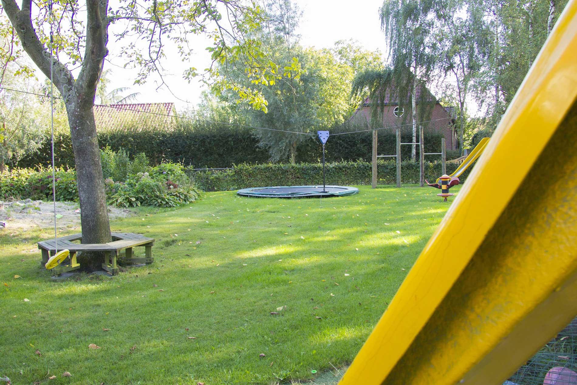 Woonboerderij Schijndel Tuin